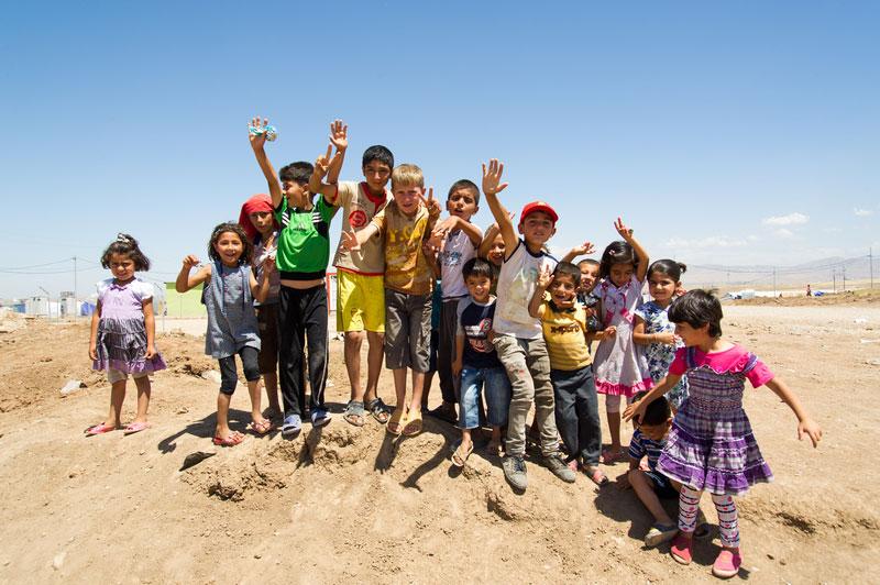 IRAQ: UN CENTRO SPORTIVO PER DARE UN CALCIO ALLA GUERRA