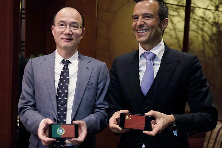 Anche Jorge Mendes a Pechino: il calcio cinese alza la posta in gioco