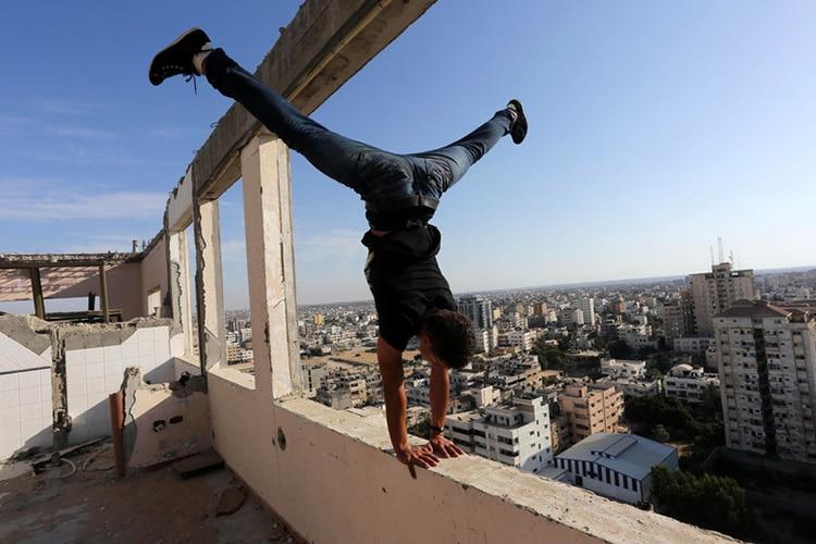 Salti Immortali sulla striscia di Gaza