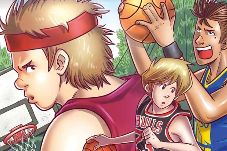 """Basket Case"" : quando lo sport diventa fumetto"