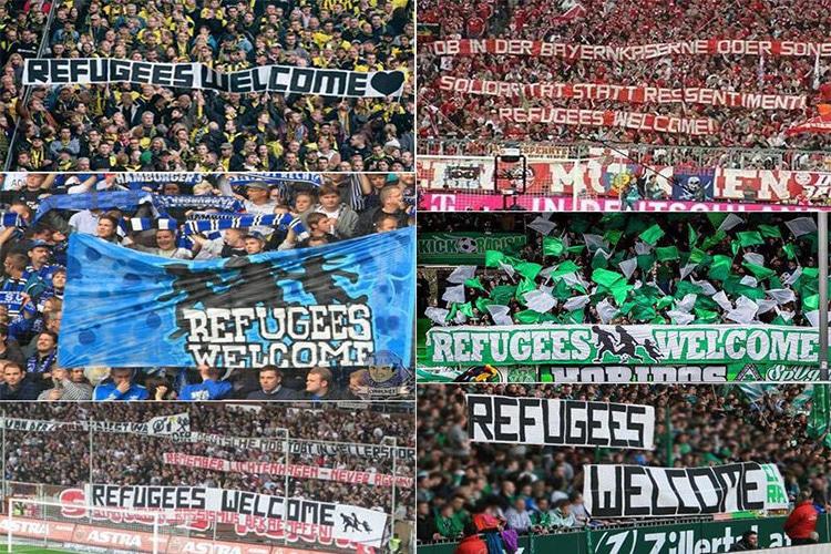 Bayern Monaco e Bundesliga : le curve danno il buon esempio per l'integrazione