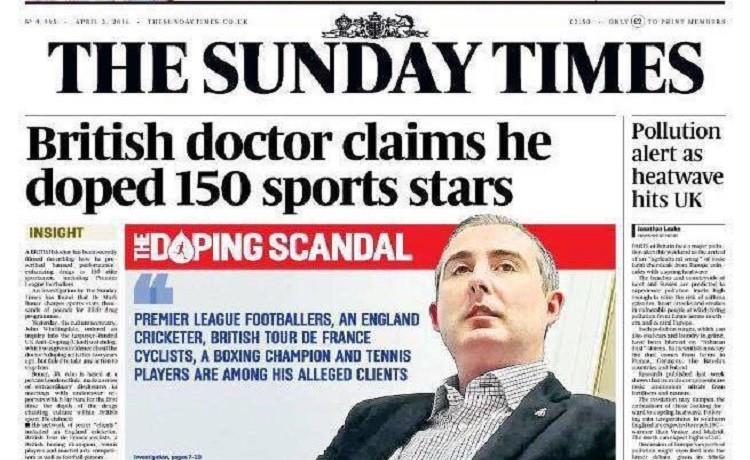 Lo Sport Inglese nella bufera del Doping. Sotto accusa anche la Premier League