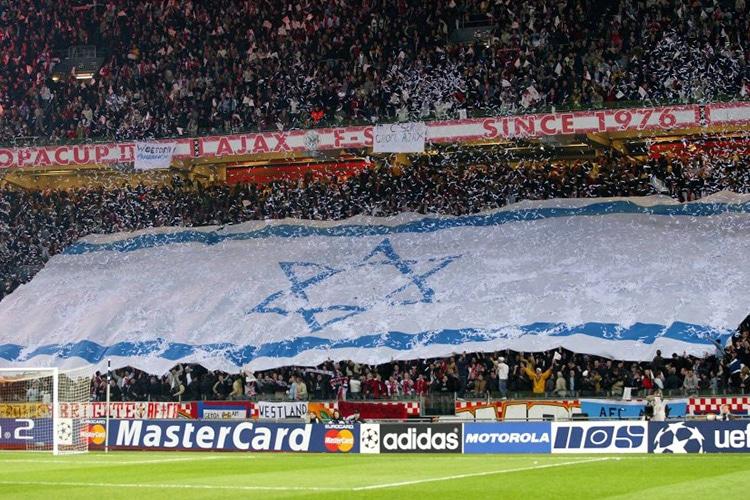 L'Ajax, la squadra del ghetto che porta la Stella di David allo stadio