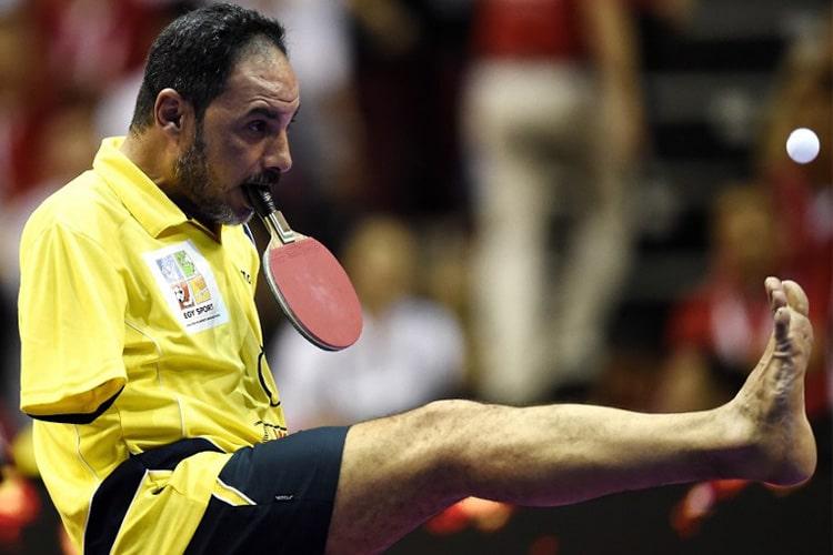 Il Ping Pong impossibile di Ibrahim Hamato