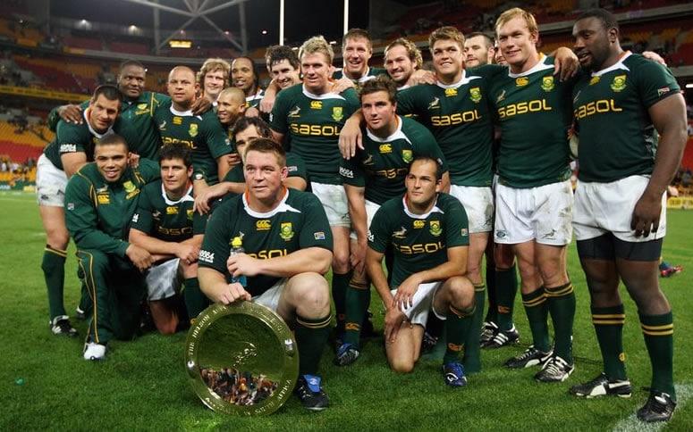 Rugby: Troppi bianchi per il Sudafrica, a rischio candidatura ai Mondiali 2023