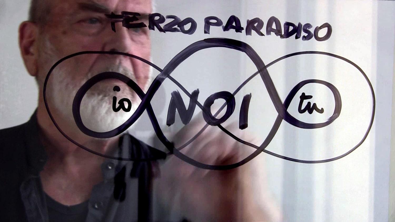 Michelangelo Pistoletto - Terzo Paradiso
