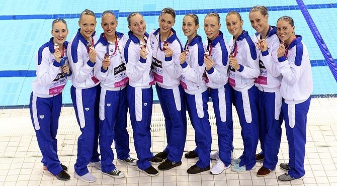 Europei Nuoto Londra 2016, Nuoto Sincronizzato: le azzurre che puntano in alto
