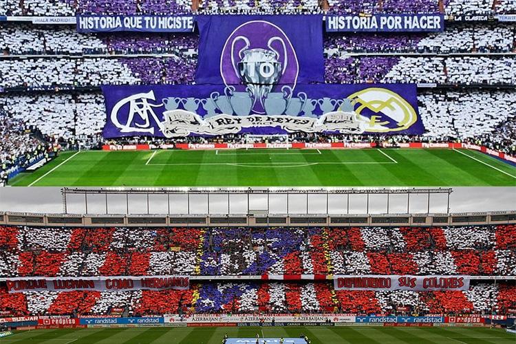 Champions League: Atletico Madrid, Real Madrid e le curve…espulse