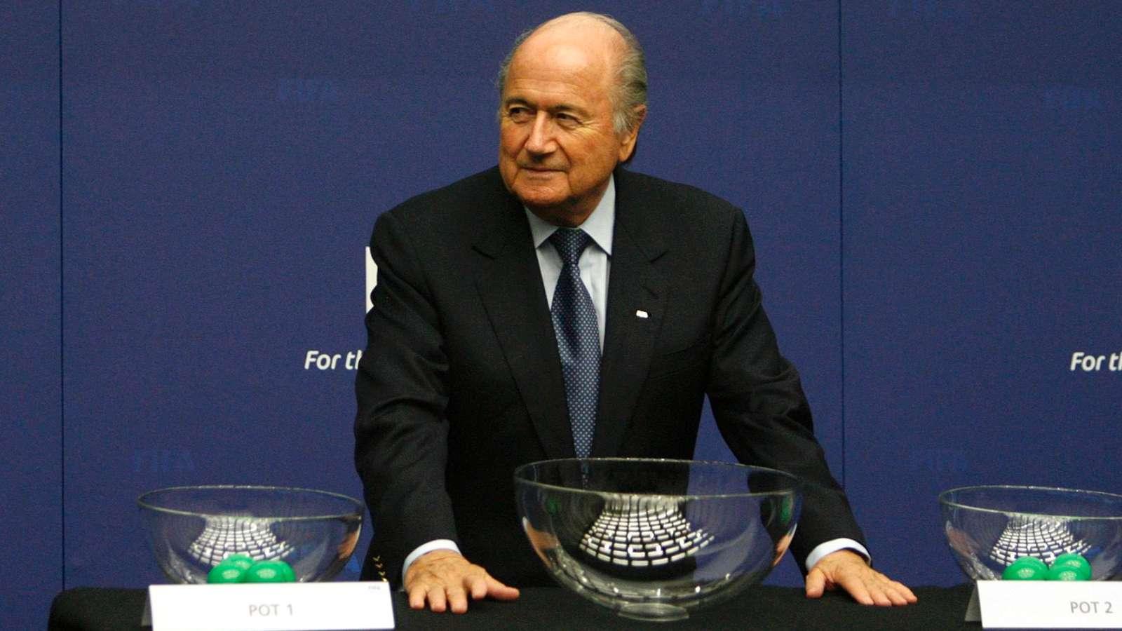 """BLATTER CONTRO L'UEFA: """"UNA SQUADRA ITALIANA HA TRUCCATO I SORTEGGI IN EUROPA"""""""