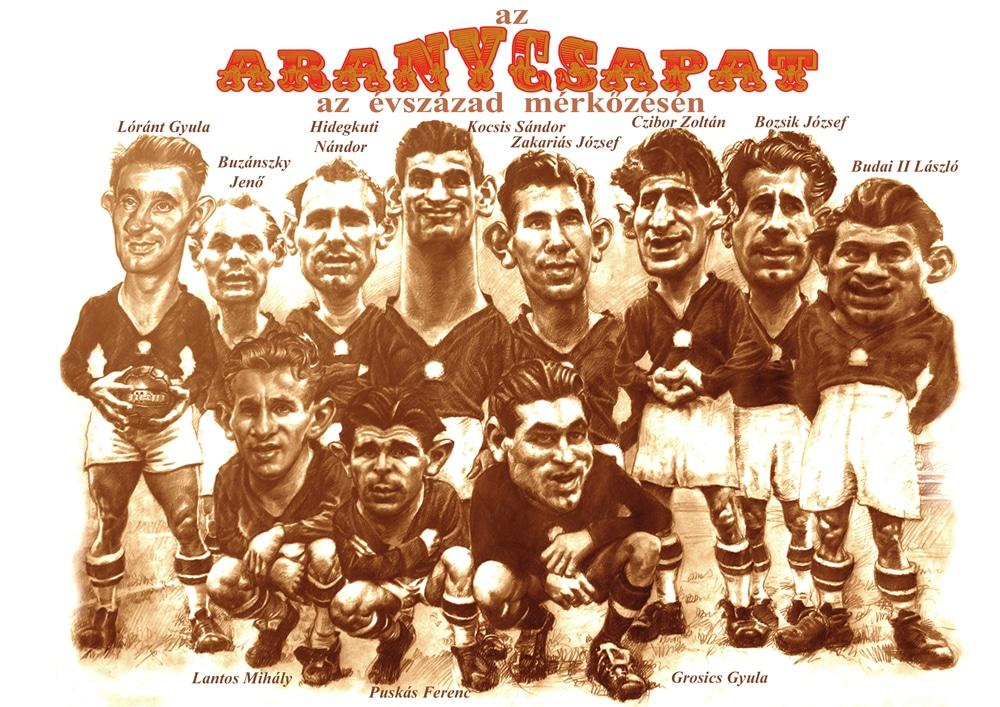Puskas, l'Honved e la Squadra d'Oro: il calcio al tempo della Rivoluzione Ungherese