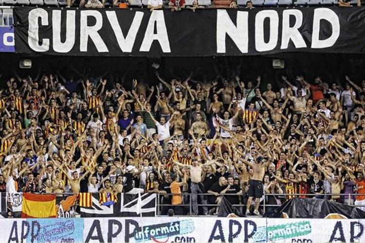 Non è una Curva per vecchi: i tifosi contro il Valencia