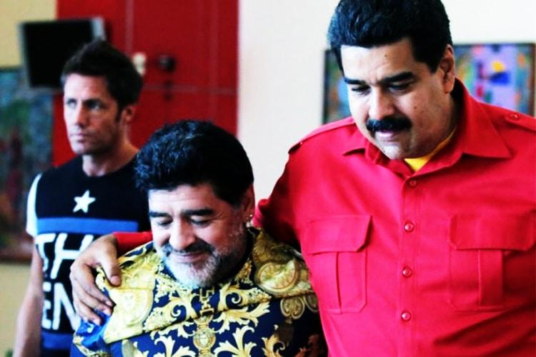 Diego Armando Maradona, il Rivoluzionario. Il rapporto tra Diego ed i grandi leader latini e non solo