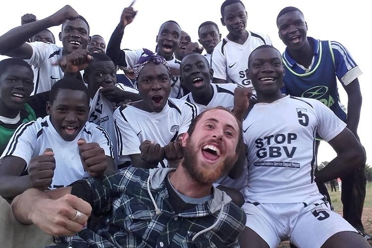 Zesco Stars, la squadra del progetto Hopeball per portare l'istruzione in Zambia