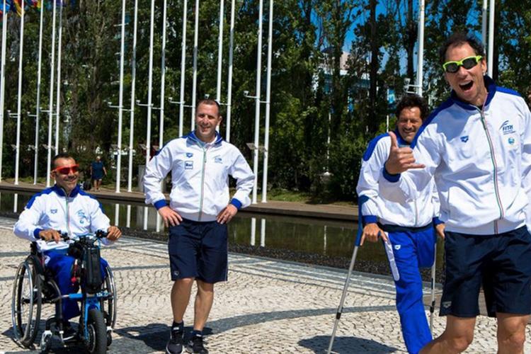 Rio 2016, ecco chi sono gli azzurri del Paratriathlon italiano che voleranno in Brasile