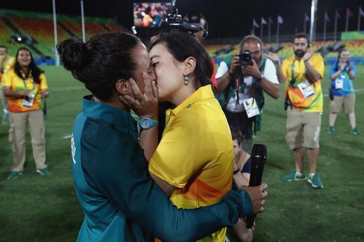 Rio 2016: arriva la prima proposta di matrimonio Gay alle Olimpiadi