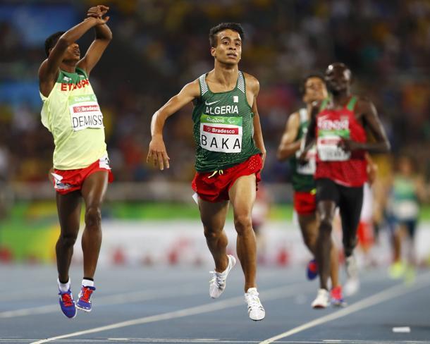 Non solo Abdellatif Baka: ecco i Paralimpici più forti dei normodotati