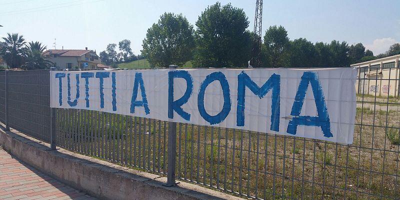 Lazio-Pescara: quella normale sospensione dei diritti civili a Roma