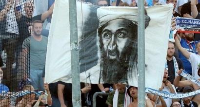 Scandalo in Germania: Tifosi inneggiano a Bin Laden nel ricordo dell'11 Settembre
