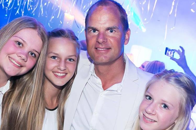Frank De Boer si appassiona alla Pallamano..grazie a sua figlia
