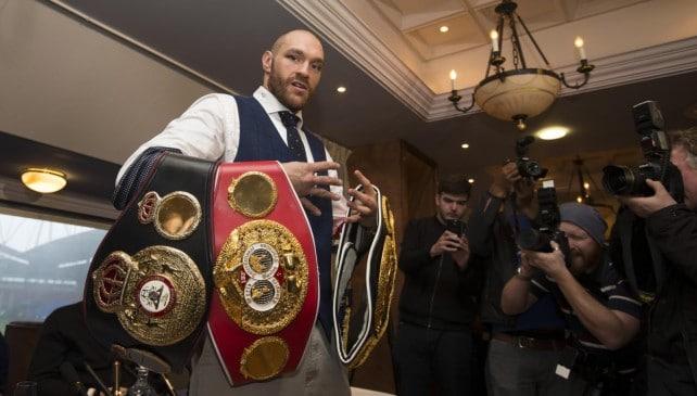 Boxe: Fury alle corde, titolo mondiale addio e licenza a rischio