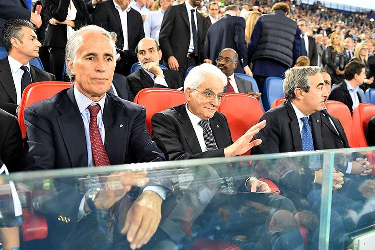 "Barriere Stadio Olimpico, interviene Malagò: ""Fiducia ai tifosi"""
