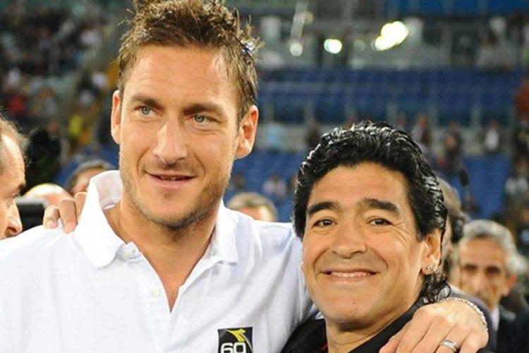 Uniti per la Pace: Totti e Maradona si sfidano davanti a Papa Francesco