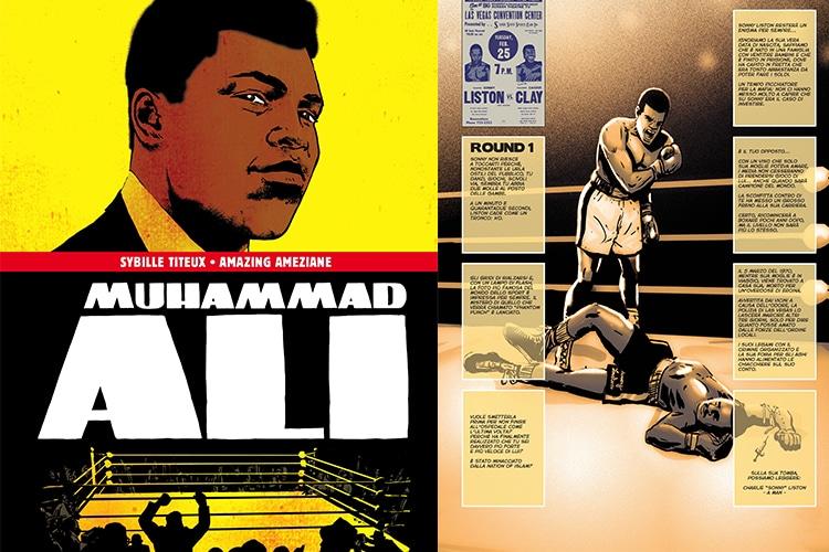 Muhammad Ali, il mito del grande campione rivive in una Graphic Novel