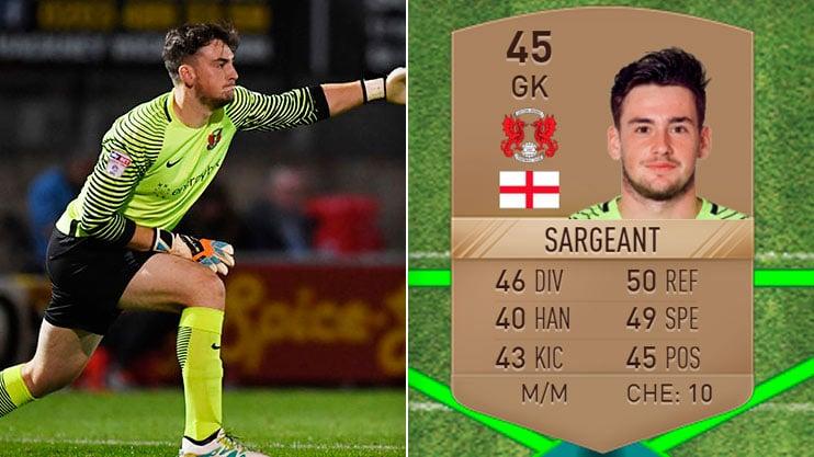 Sam Sargeant, il giocatore più scarso di Fifa17