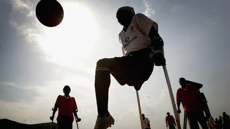 Lo sforzo dell'Inghilterra per 'dare un calcio' alle disabilità