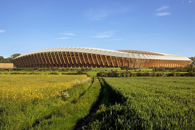 Uno stadio interamente in legno per aiutare l'ambiente: la grandiosa sfida dei Forest Green Rovers