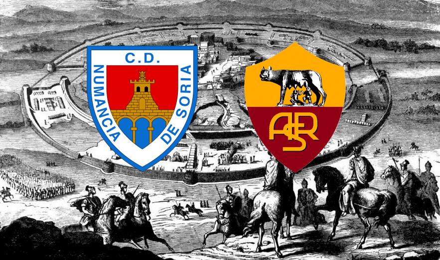 La Roma è stata invitata in Spagna per rievocare l'assedio di Numanzia