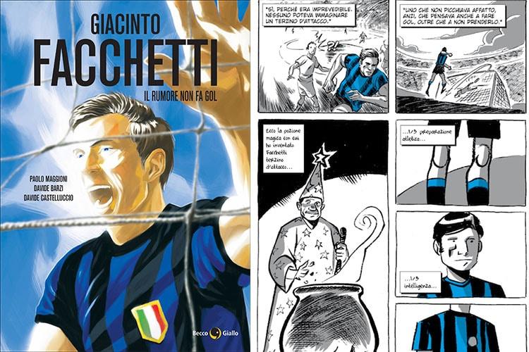 Il Rumore non fa gol, una graphic Novel ricorda Giacinto Facchetti