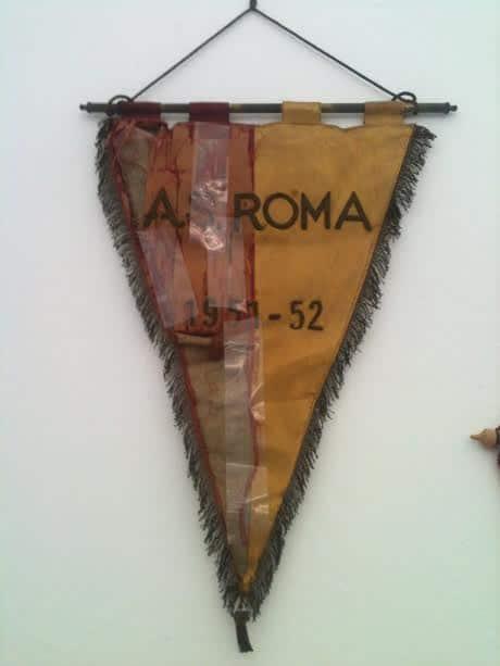 Gagliardetto della Roma utilizzato a Piombino