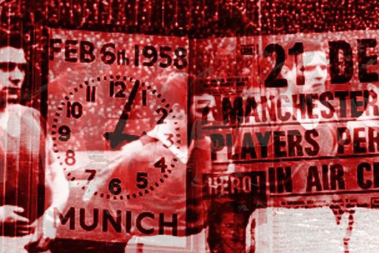 6 febbraio 1958 – Monaco di Baviera, fiori rossi nella neve