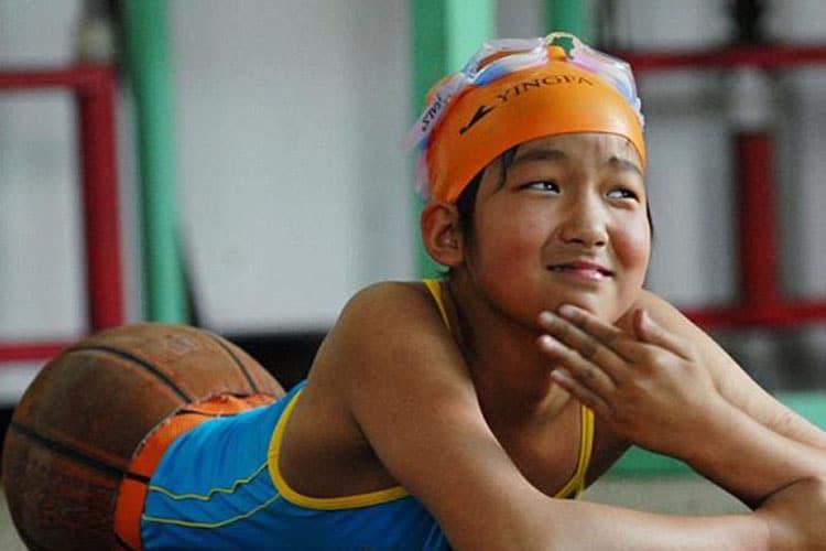 "Non chiamatela ""Basketball girl"": Quian Hongyan, la nuotatrice"