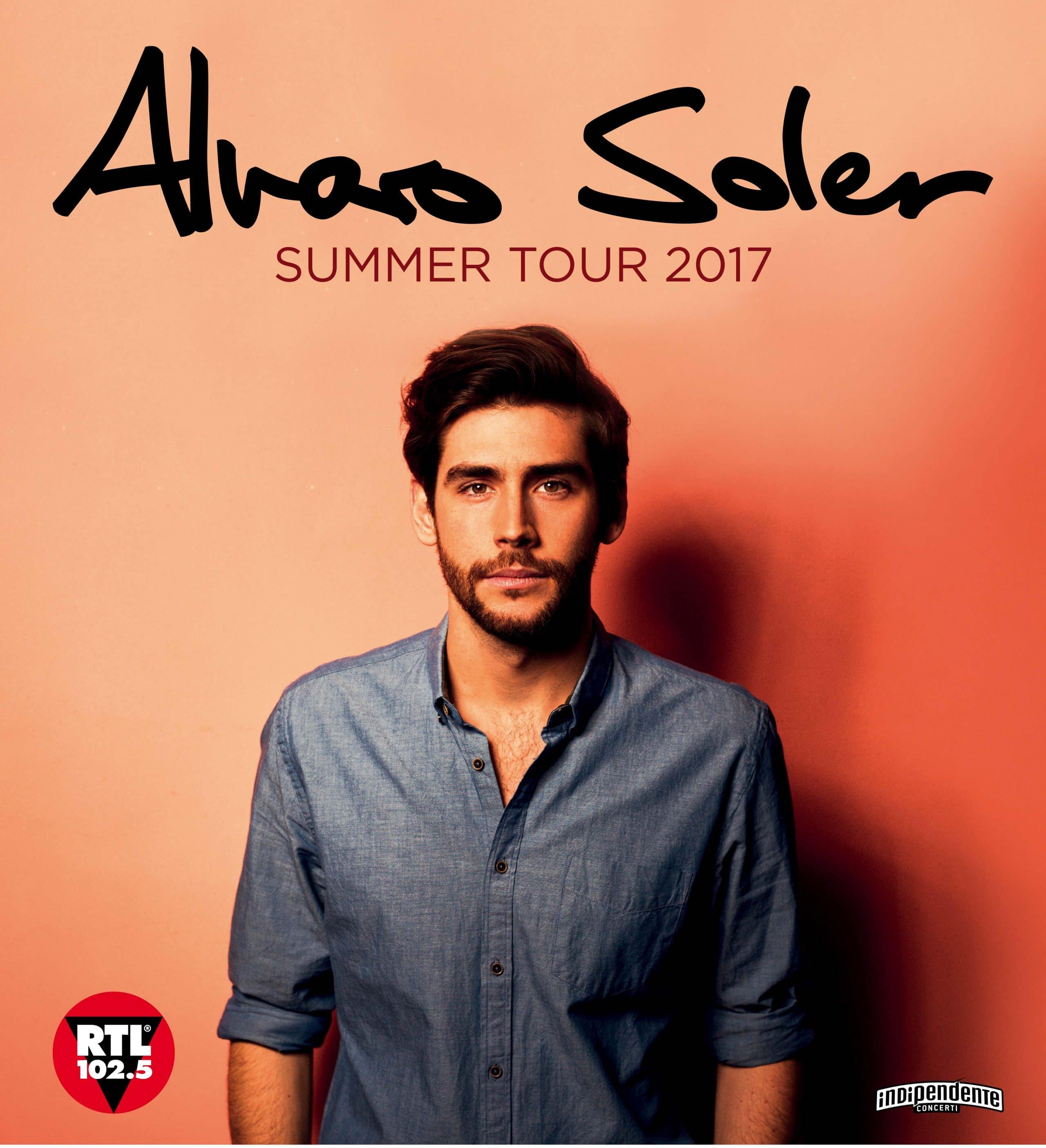 soler summer tour artwork