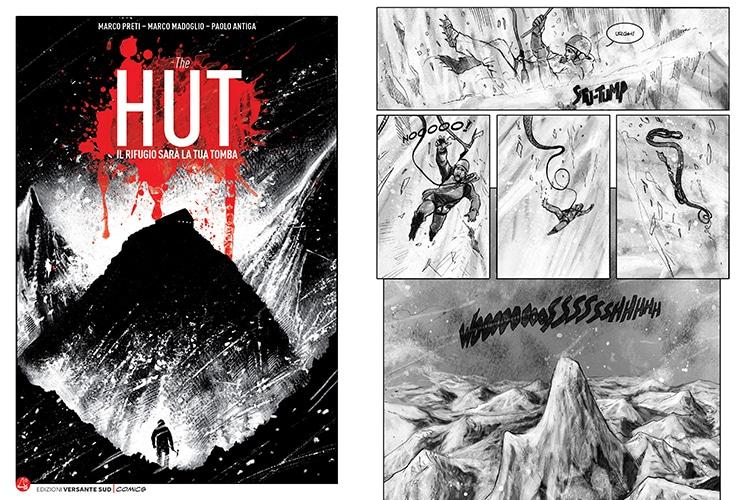"""""""The Hut"""", la Graphic Novel sul """"lato oscuro"""" della Montagna"""
