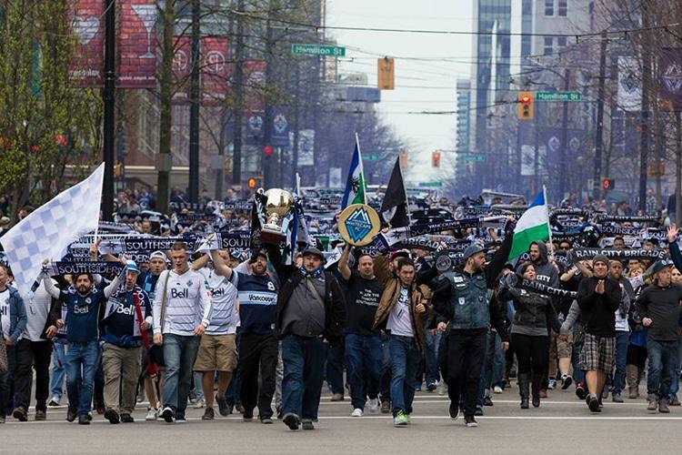 """No alle trasferte: i tifosi di Vancouver contro il  """"Muslim Ban"""""""