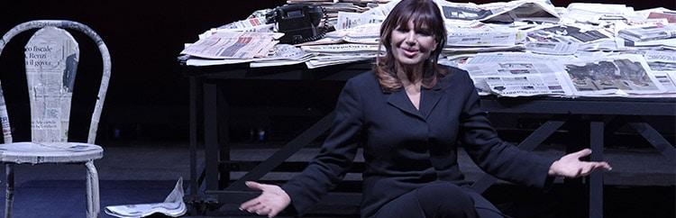 Elena Bonelli al Teatro dell'Angelo: un Brecht  originale e moderno, da non perdere.