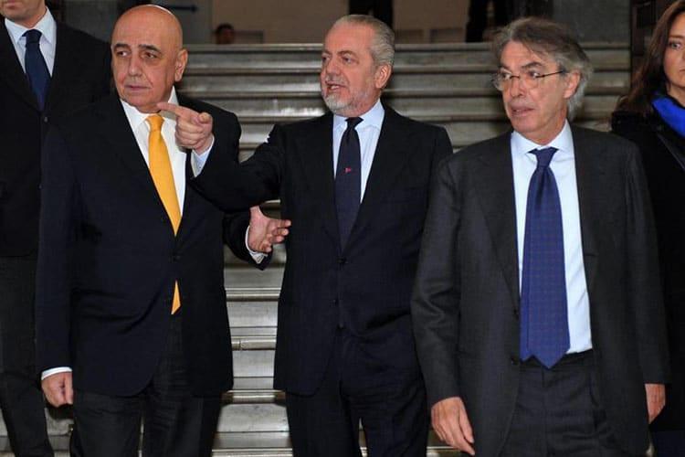 Il patto anti-Juve sull'asse Milano-Napoli e il duello Agnelli-Elkann