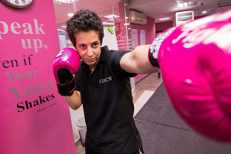 Lina Khalifeh: la combattente giordana e la sua palestra in difesa delle donne