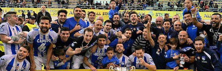 """Calcio a 5, Luca Leggiero: """"A Pescara le gioie più importanti. Triplete? Ci proveremo"""""""