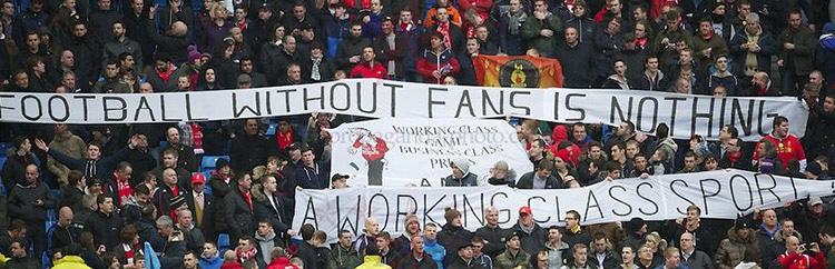 Regno Unito: 'Supporters Not Customers!'. Tifosi uniti per migliorare il calcio inglese