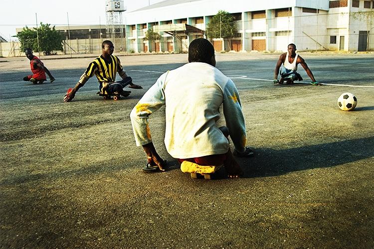 Lo Skate Football è lo Sport più bello per l'Africa