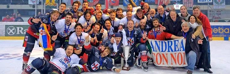 Hockey Ghiaccio: Milano raddoppia, dopo la Coppa Italia, vince la Serie B