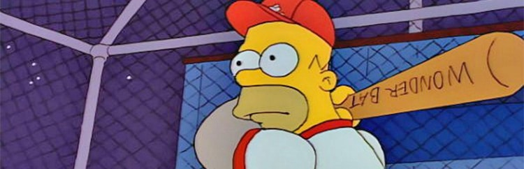 Homer Simpson nella Hall of Fame del Baseball