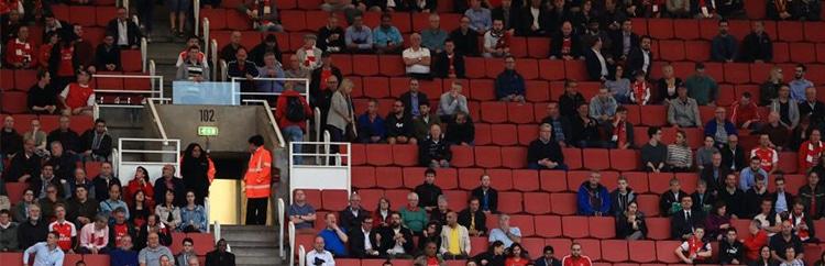 Lo Stadio si svuota, segnali di allarme anche dall'Inghilterra?