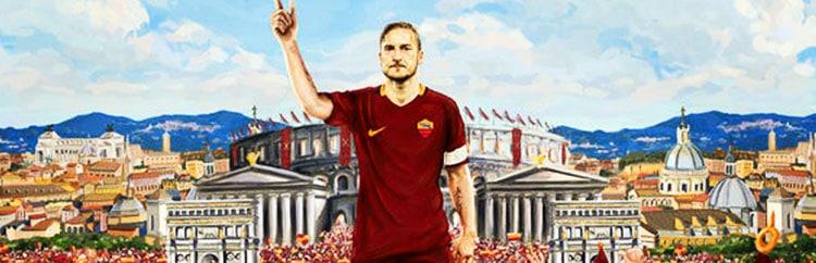 E se Francesco Totti andasse a giocare al Trastevere?