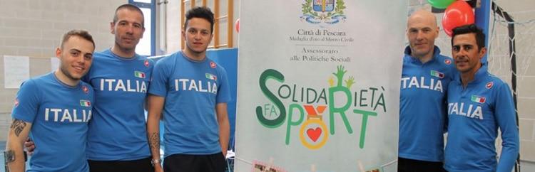 La Pedalata della Solidarietà: la nazionale paralimpica di ciclismo dona speranza nelle scuole