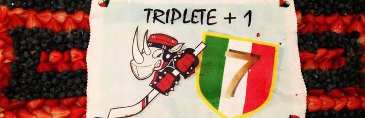 Triplete+1: a Milano c'è ancora spazio per esultare, grazie ai pattini